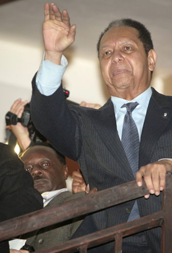 "<b>Baby Doc</b>"" Duvalier back in Haiti is (should be) BIG news"