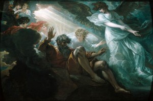 Moses Shown the Promised Land by Benjamin West (1738-1820)