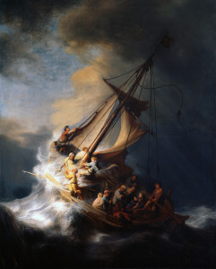The Storm on the Sea of Galilee by Rembrandt van Rijn, 1633